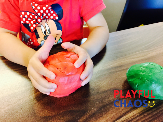 自家制Playdough
