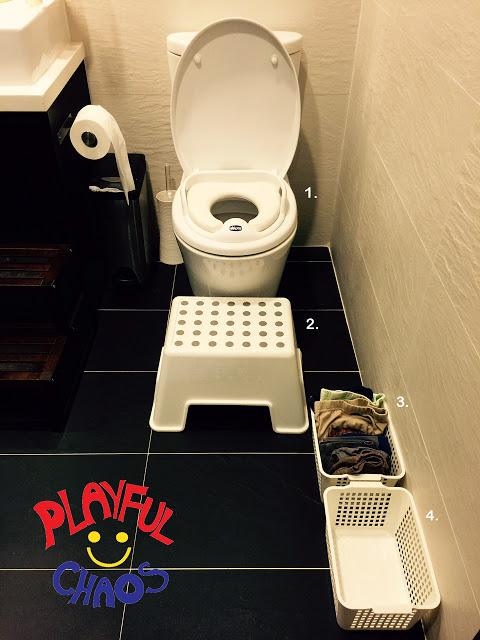 如廁訓練的廁所設計