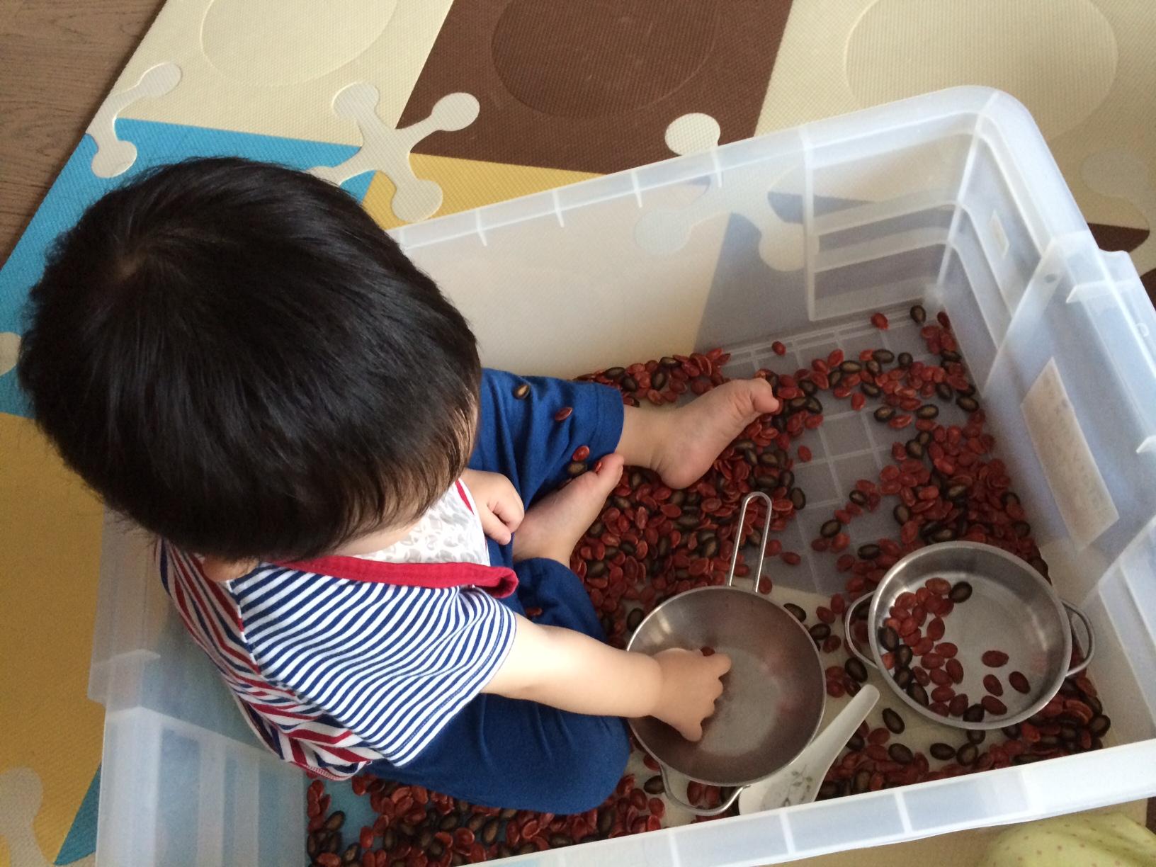 幼兒感官發展~在家裡的Sensory Play