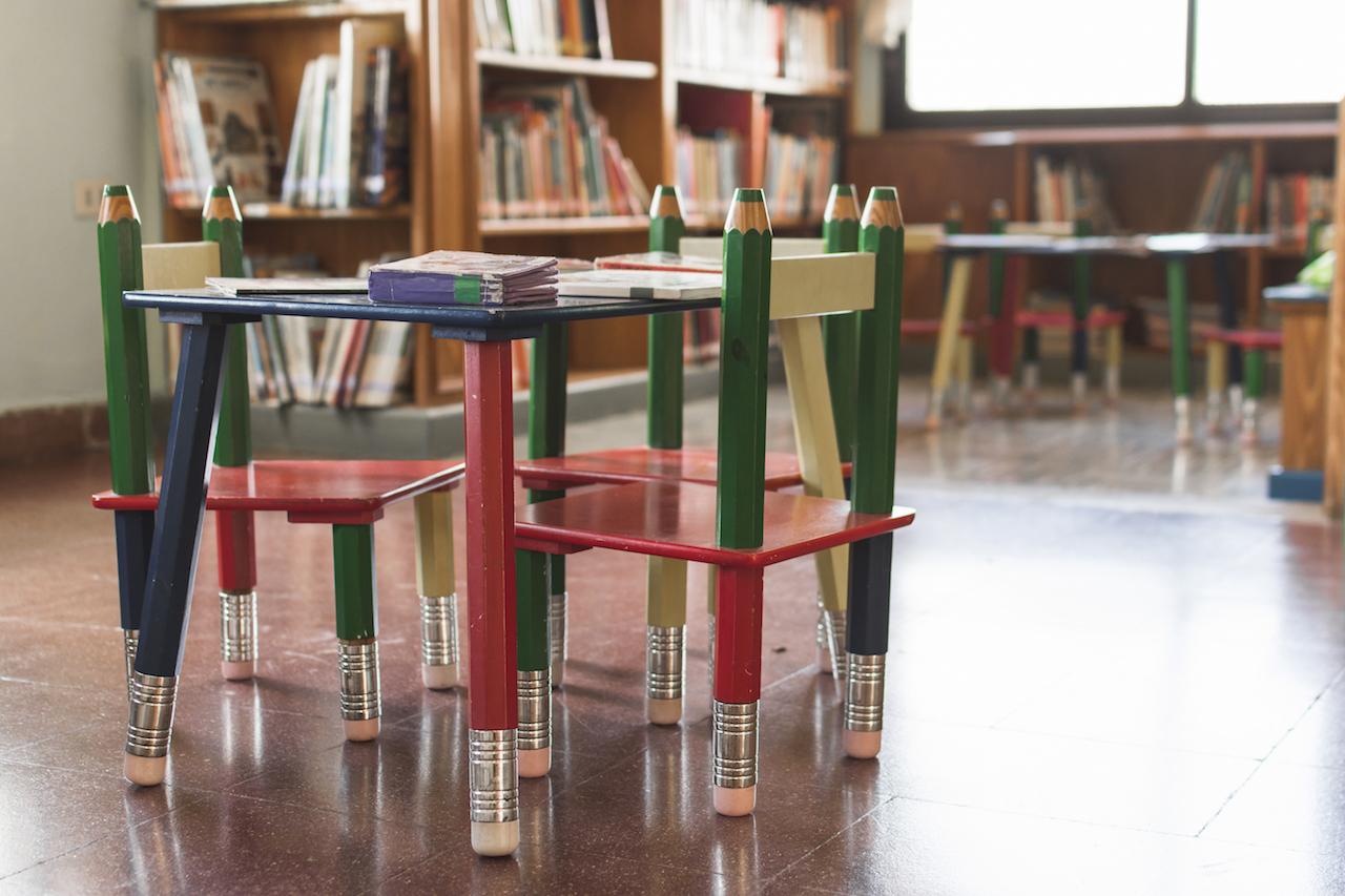 從圖書館看蒙特梭利的世界