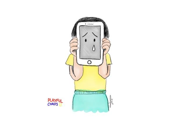 我的願望是成為智能手機