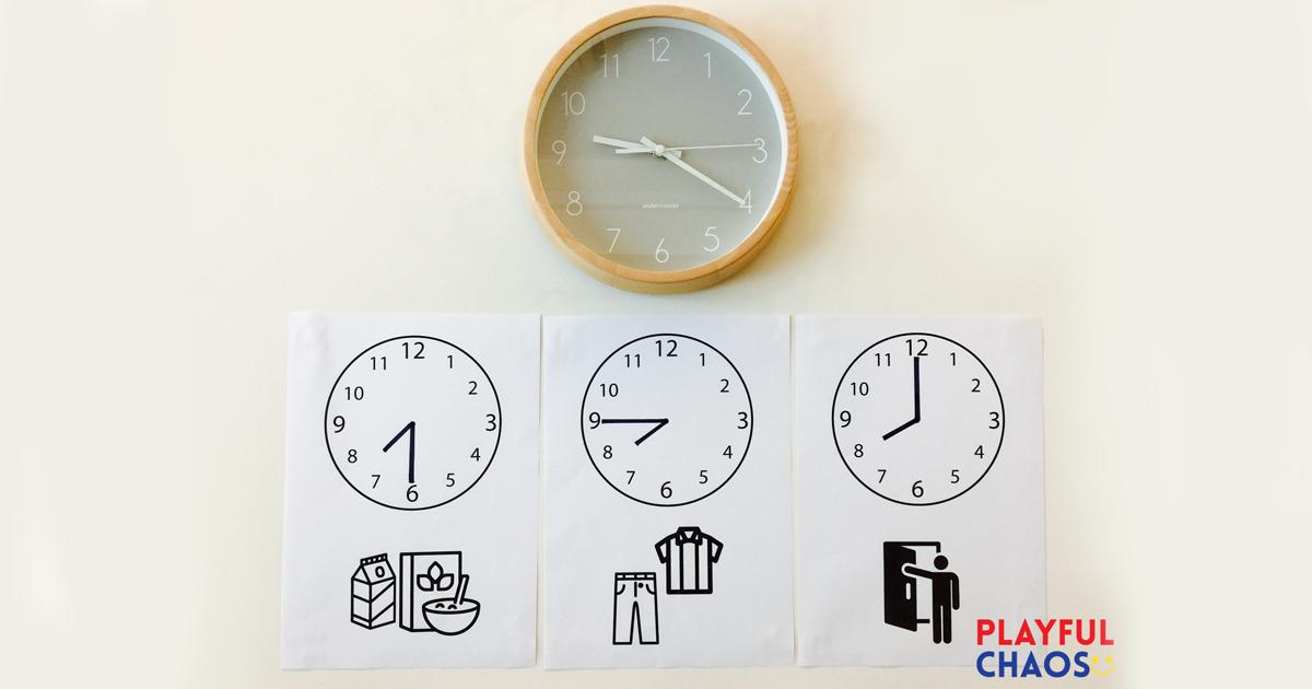 如何幫助孩子建立時間概念