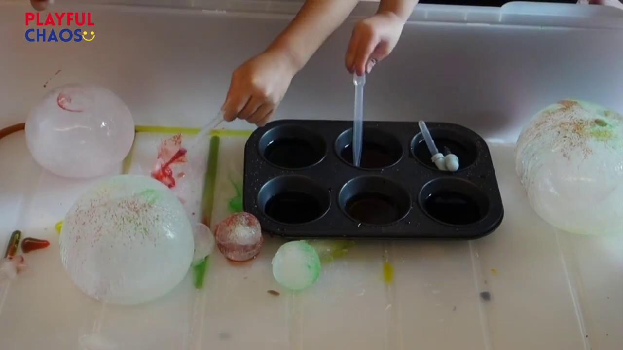 玩樂學習系列 – 鹽冰山Play