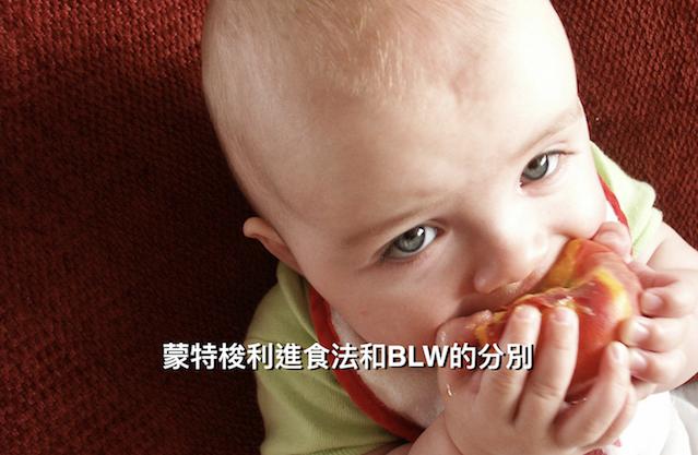 蒙特梭利與自主進食法(BLW)的分別