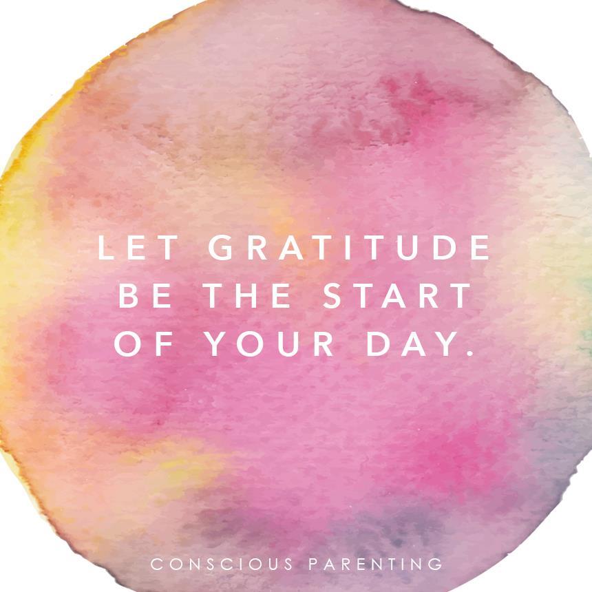養成感恩的習慣