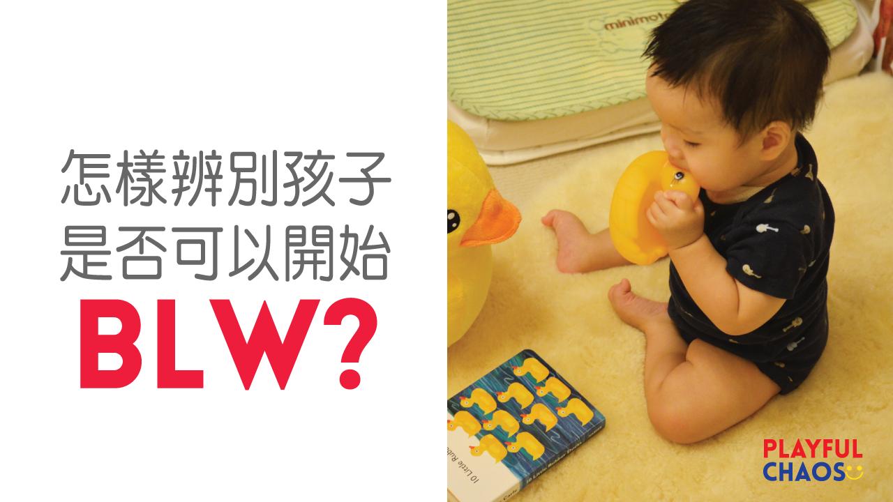怎樣辨別孩子是否可以開始BLW?瞭解進食敏感期