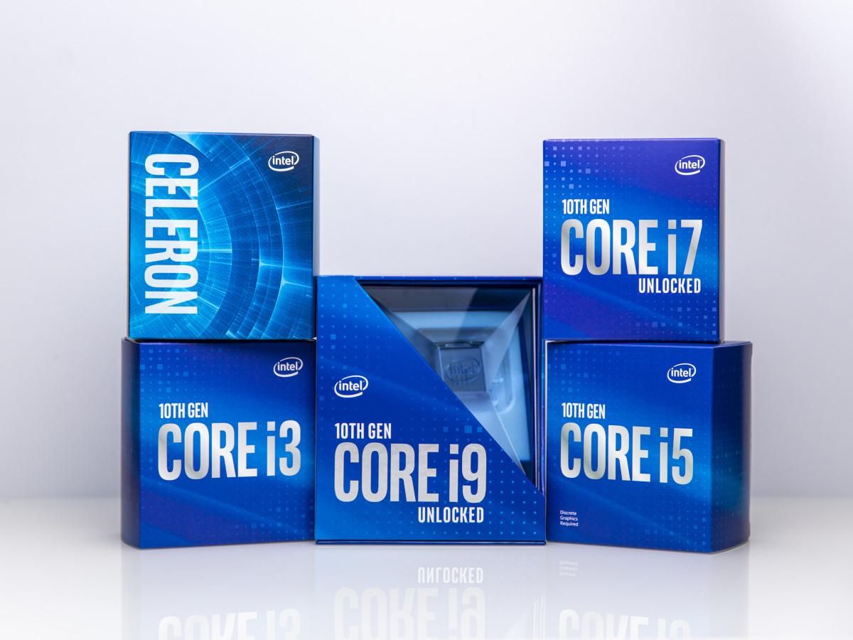 出貨10代Core採用的新盒裝。