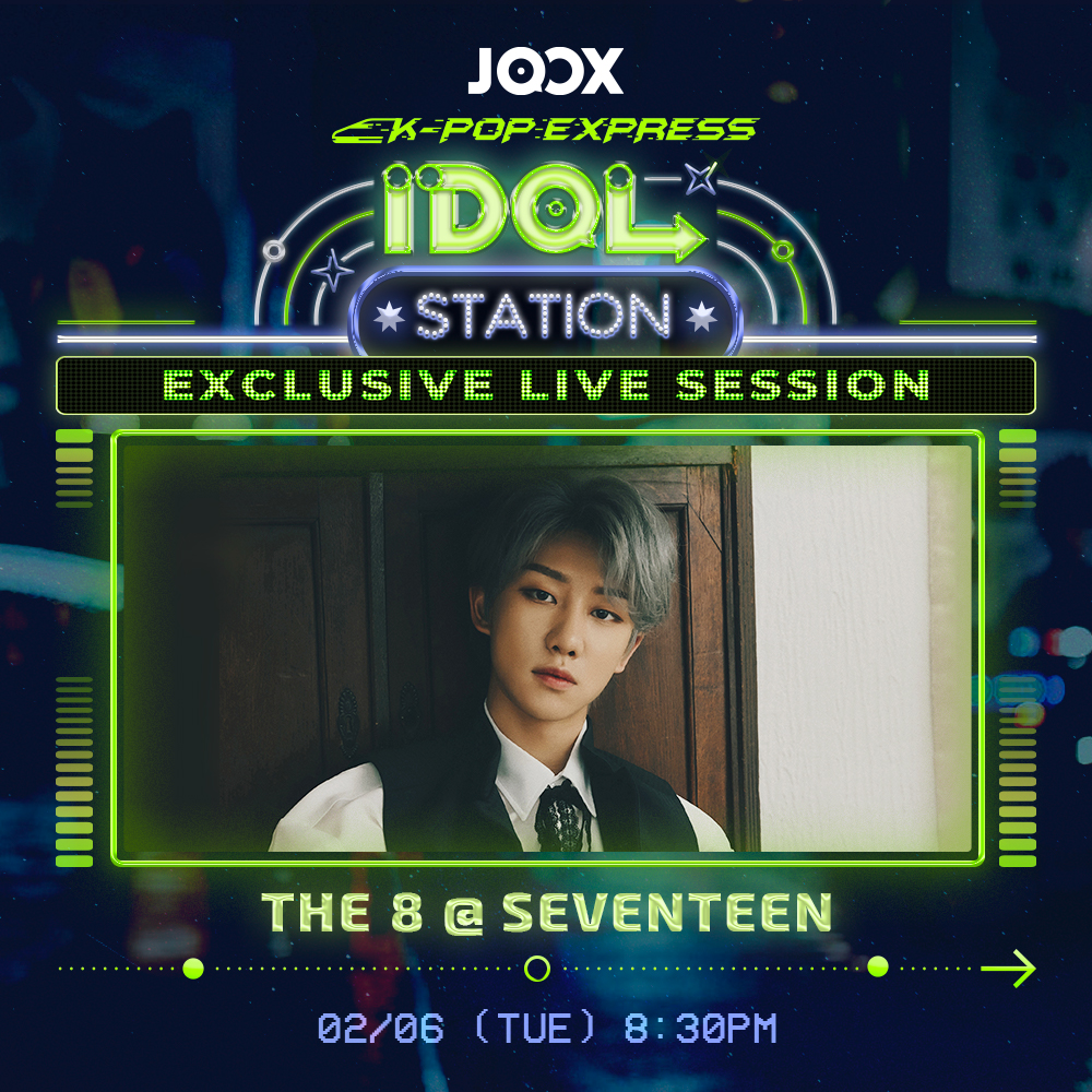 JOOX K-Pop Express-Idol Station-The 8 (HK)