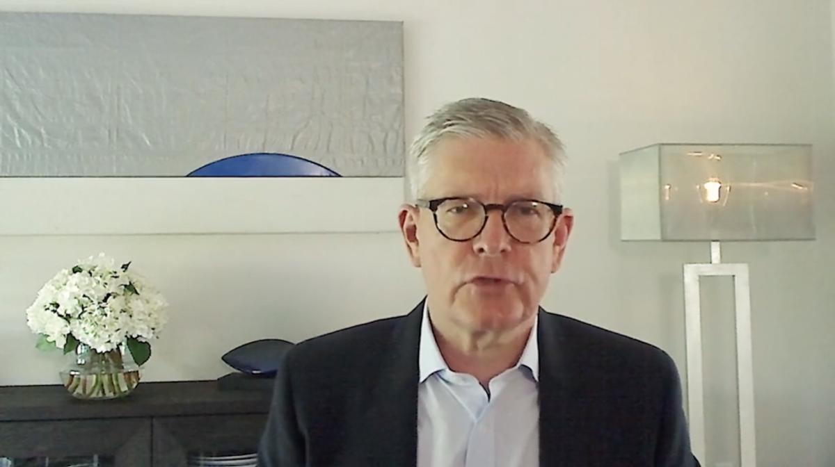 Börje Ekholm 稱,疫情改變網絡需求。