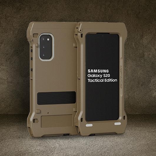 Galaxy S20 戰術版有超耐用的外殼,防撞防沙塵防水。