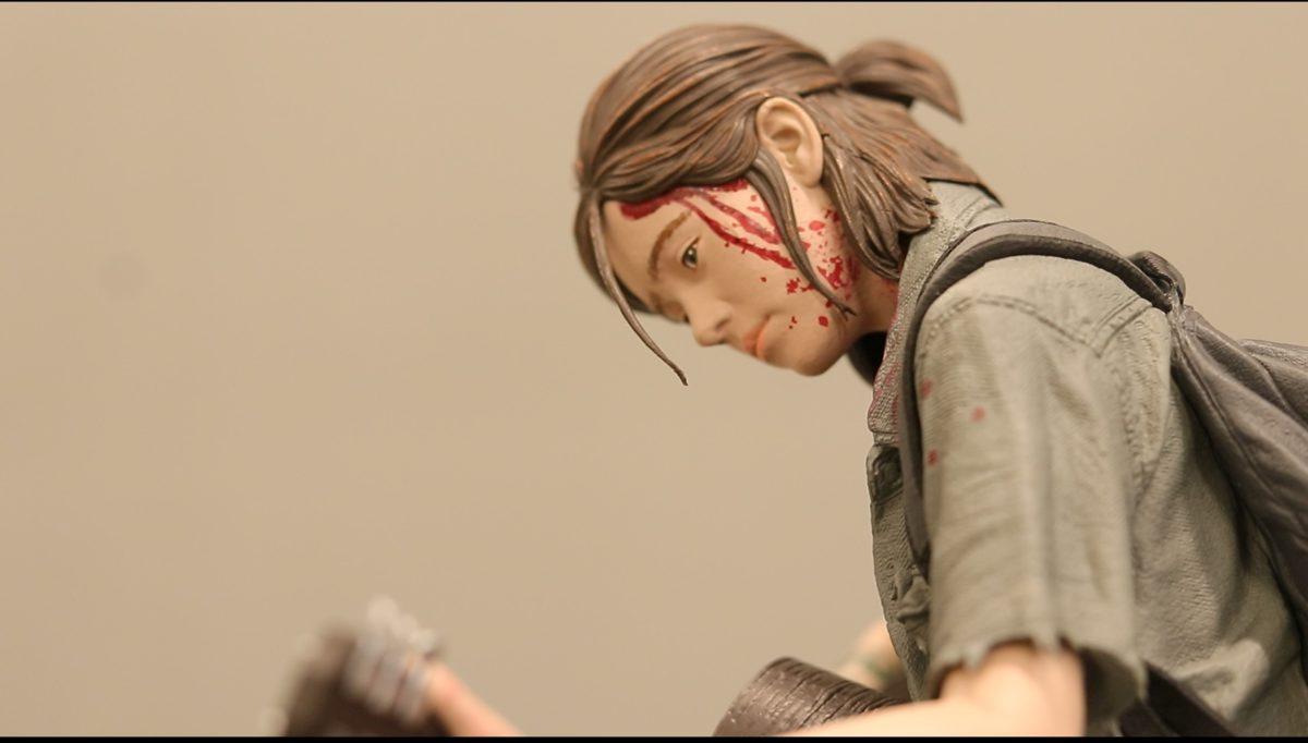 The Last of Us Part II 艾莉版内附 figure的細節的刻畫極佳。