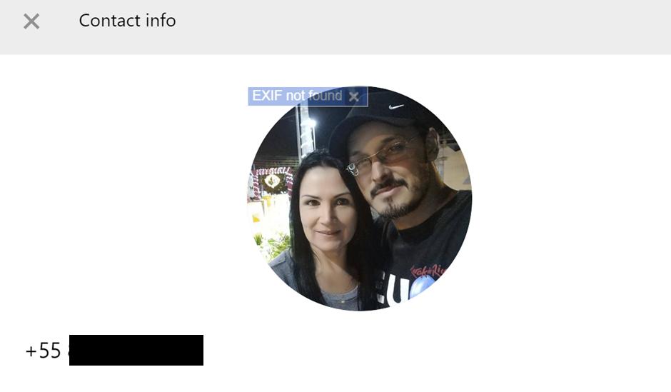 透過搜尋得來的連結,可以取得用戶姓名、照片等資料