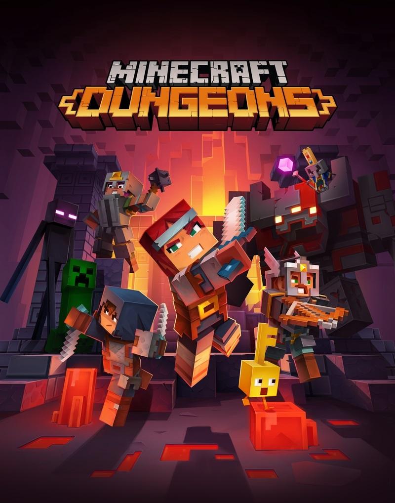 Minecraft Dungeons 封面