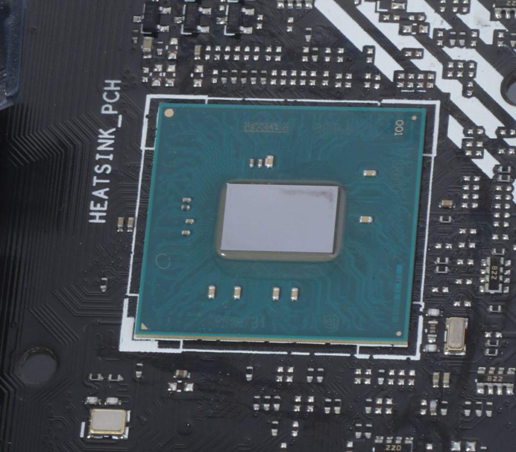 Intel H410晶片組。