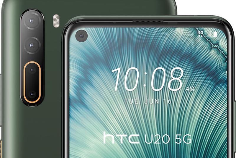HTC U20 5G 四鏡頭由 48MP 主鏡、8MP 超廣角鏡、2MP 景深鏡及 2MP 微距鏡所組成。
