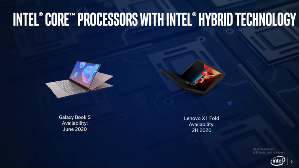 Lenovo 及 Samsung 準備推出相關的筆電。