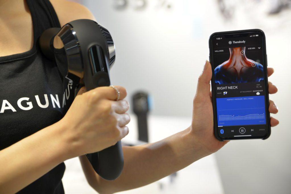 透過 Therabody 手機應用,就能跟據需要和喜好制定個人化按摩療程。過程中,會顯示需要按摩的位置,讓大家可以針對有關位置來進行治療。