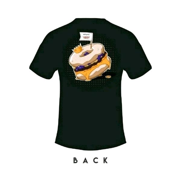 [Size 2XL] 🍔myBurgerLab x 🍩Krispy Kreme Limited Collab Tee