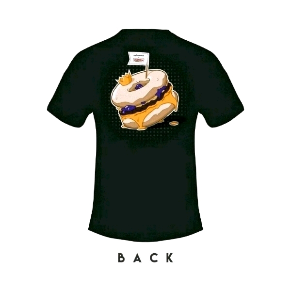 [Size 2XL] 🍔myBurgerLab x 🍩Krispy Kreme Limited Collab Tee0