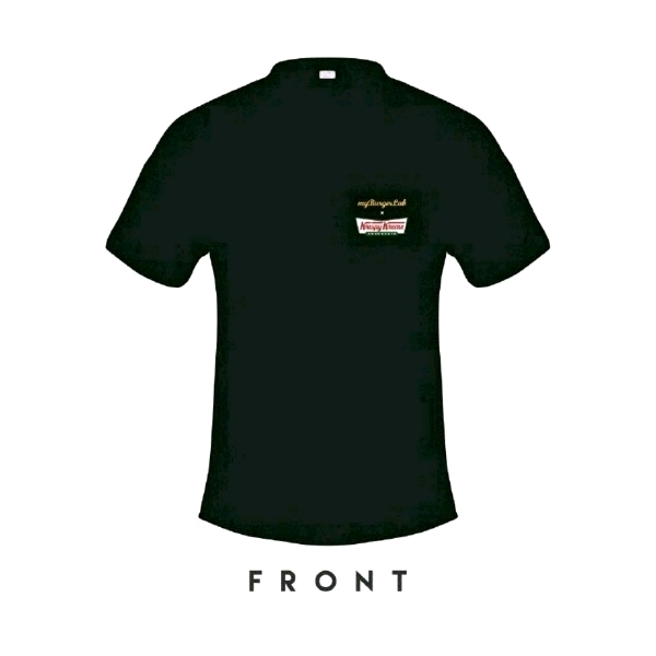 [Size 2XL] 🍔myBurgerLab x 🍩Krispy Kreme Limited Collab Tee1