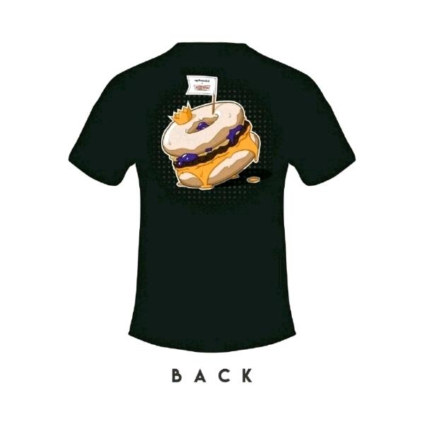 [Size L] 🍔myBurgerLab x 🍩Krispy Kreme Limited Collab Tee