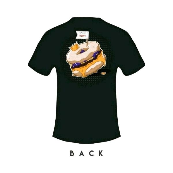 [Size M] 🍔myBurgerLab x 🍩Krispy Kreme Limited Collab Tee0