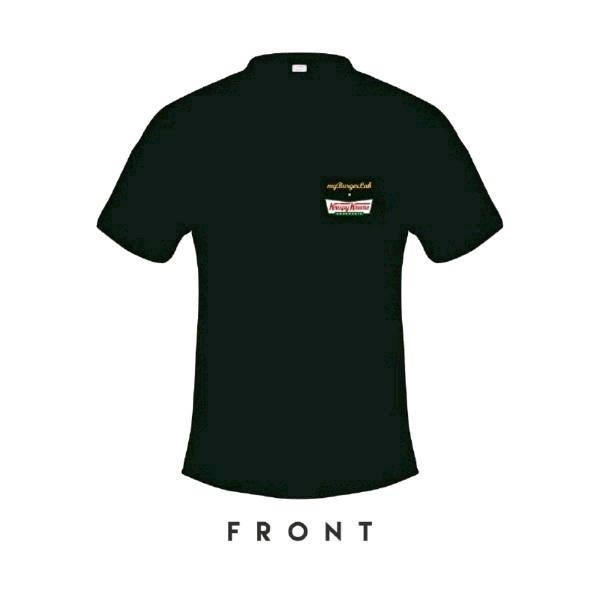 [Size XL] 🍔myBurgerLab x 🍩Krispy Kreme Limited Collab Tee1