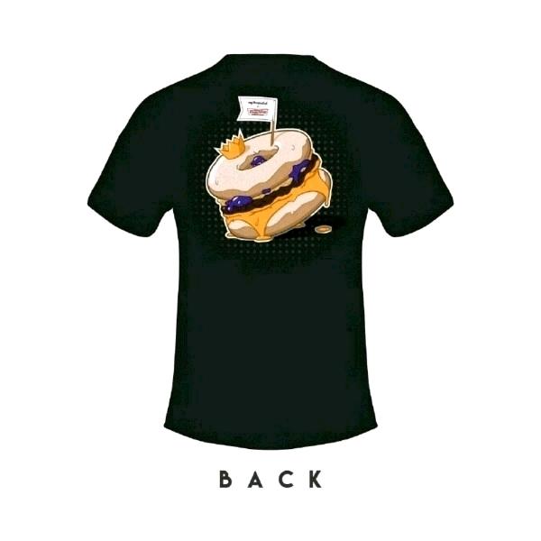 [Size XL] myBurgerLab x Krispy Kreme Limited Collab Tee0