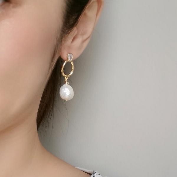 Baroque Pearl Earring2
