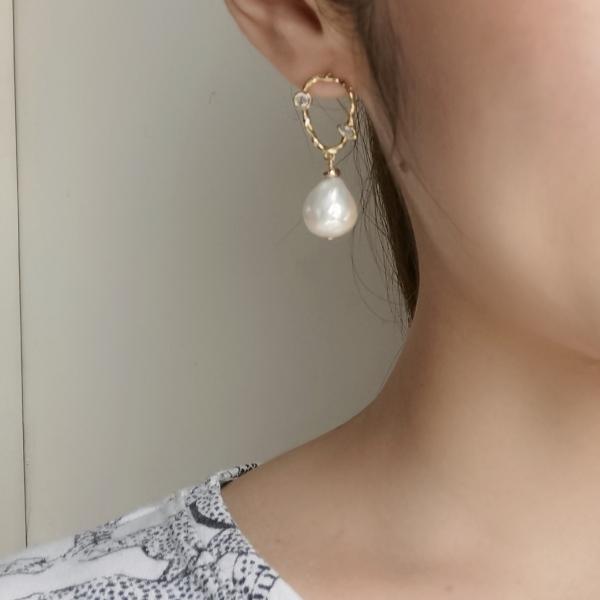 Baroque Pearl Earring3