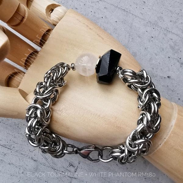 Black+White Chunky Unisex Bracelet1