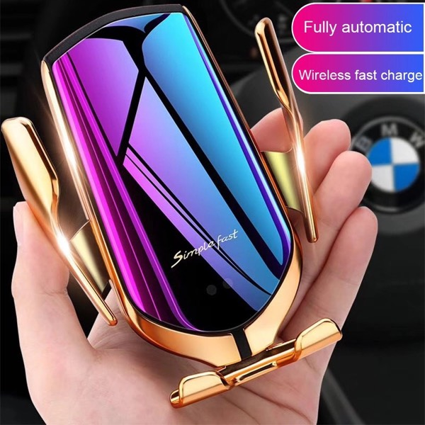 Wireless Faster Charger With Auto Sensor R20