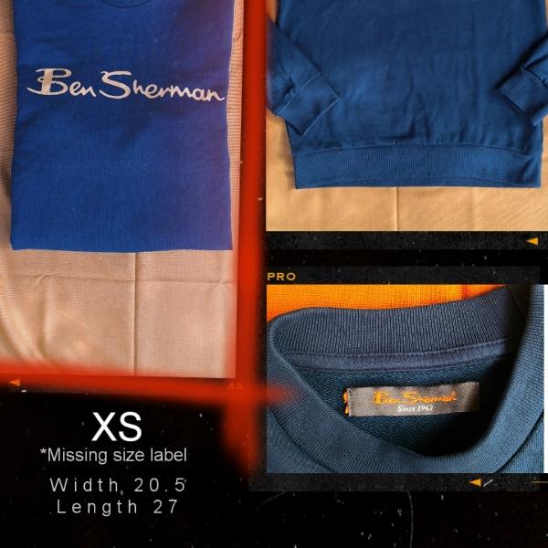 Ben Sherman Logo Sweatshirt Navy1