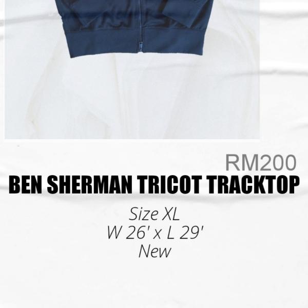 Ben Sherman Tricot TrackTop XL2