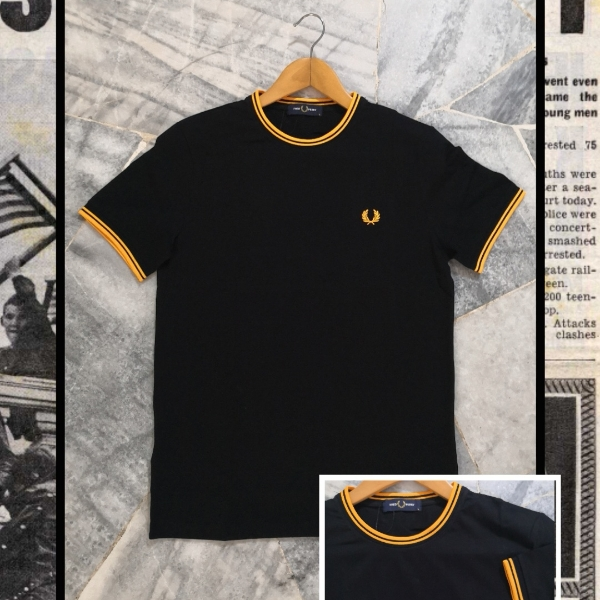 FRED PERRY RINGER TEE S