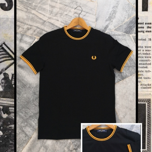 FRED PERRY RINGER TEE XL