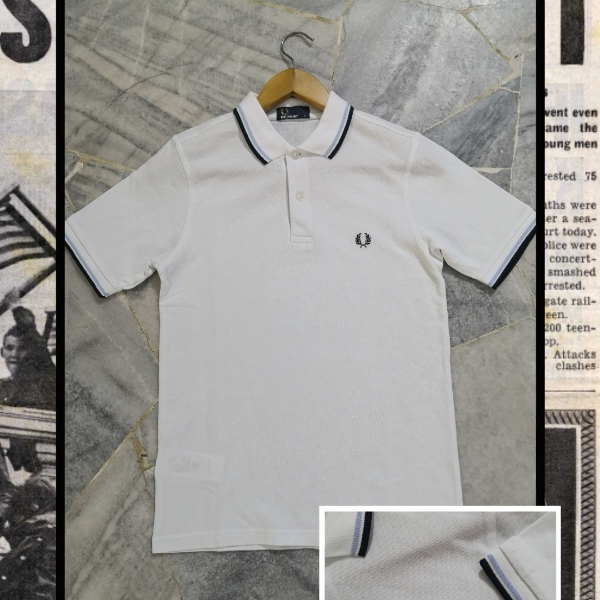 FRED PERRY TWIN TIPPED S