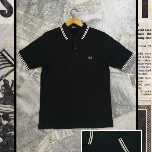 FRED PERRY TWIN TIPPED M