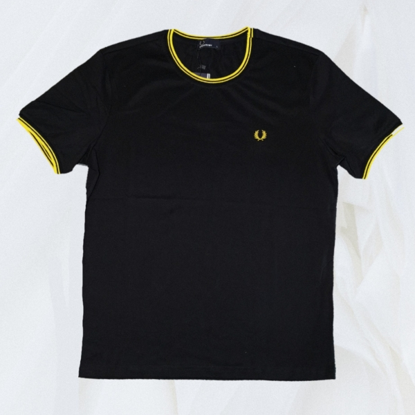 Fred Perry Jersey Ringer Tee L
