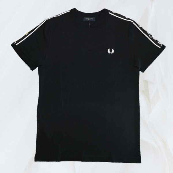Fred Perry Shoulder Side Tape Ringer Tee
