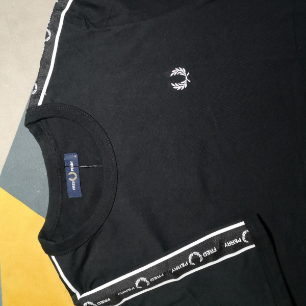 Fred Perry Shoulder Side Tape Ringer Tee2