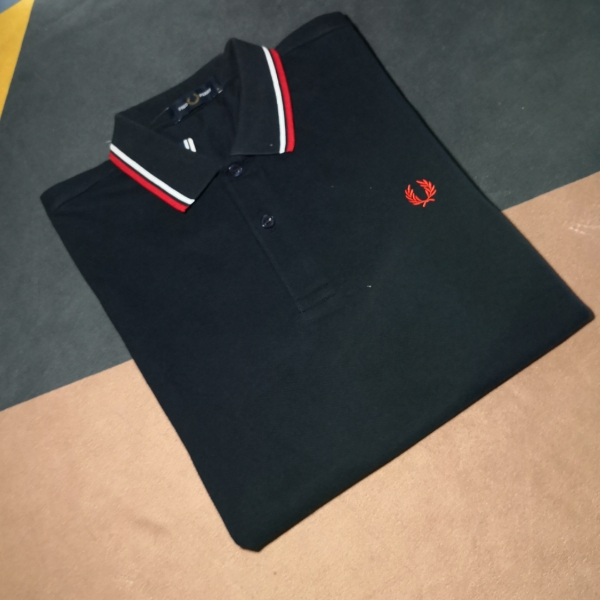 Fred Perry Ss20 Twin Tipped Dark Navy Blue2