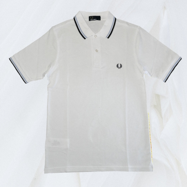 Fred Perry Twin Tipped White Blue S
