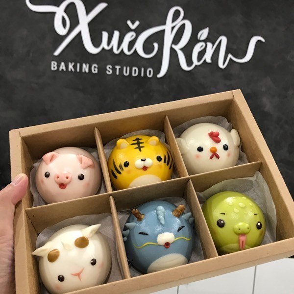 Online Class 6+6 Chinese Zodiac Animal Steamed Bun1