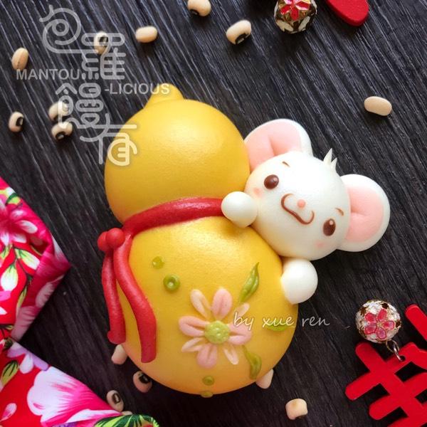 Prosperity Mouses & Mandarin Orange 🍊 Steamed Bun Hand-on Class 0