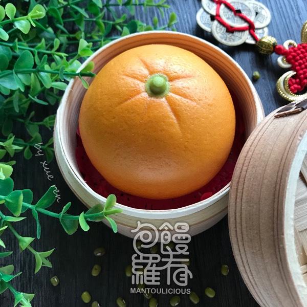 Prosperity Mouses & Mandarin Orange 🍊 Steamed Bun Hand-on Class 1