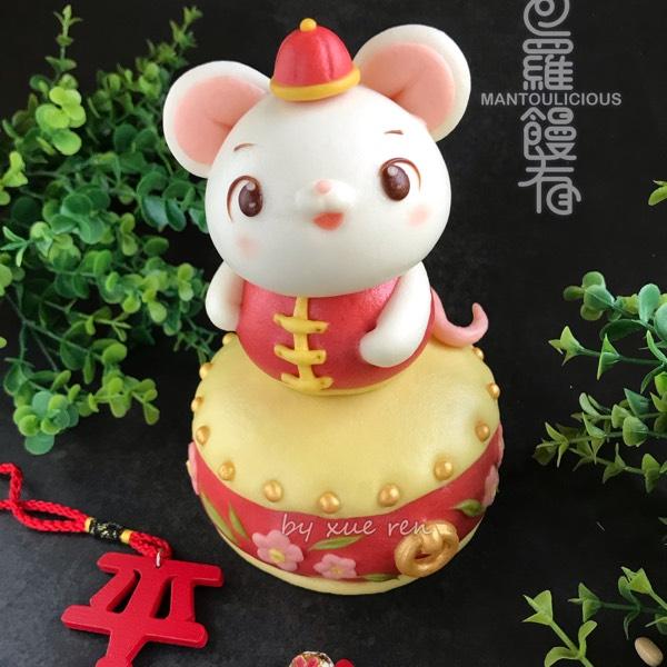 Prosperity 3D Mouse & Flowers Drum Steamed Bun Hand-on Class (7/12)0
