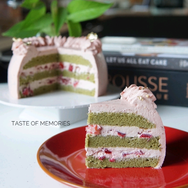 Matcha Strawberry Baking Class