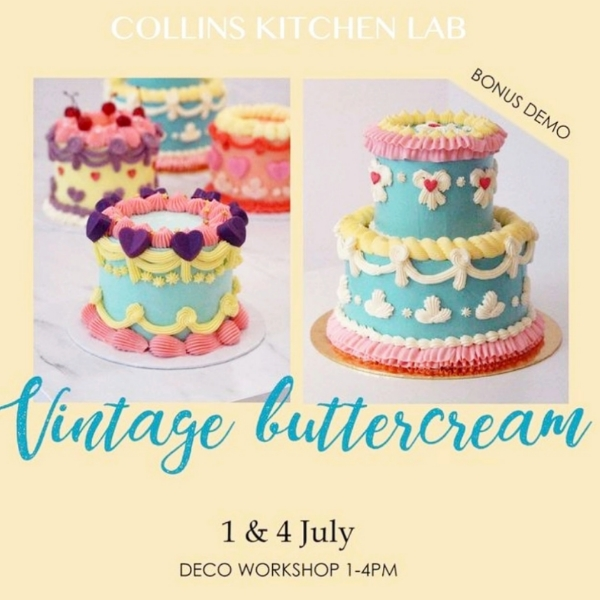 Vintage Buttercream 4 July