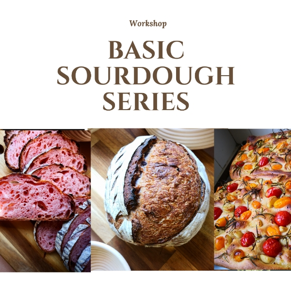 Basic Sourdough Workshop By PassioNate Create0
